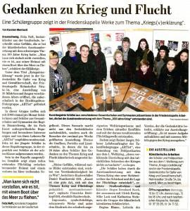 Bericht der Braunschweiger Zeitung vom 09.02.2016