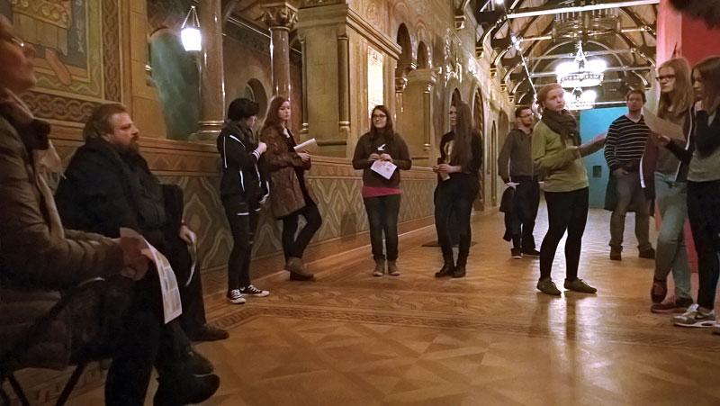 """Besuch der Ausstellung """"Kubatur5"""""""