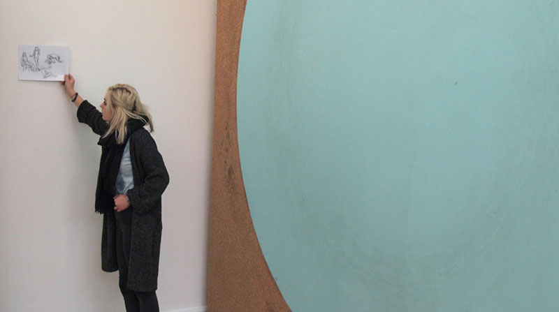 Ausstellung im Kunstverein Braunschweig 2018