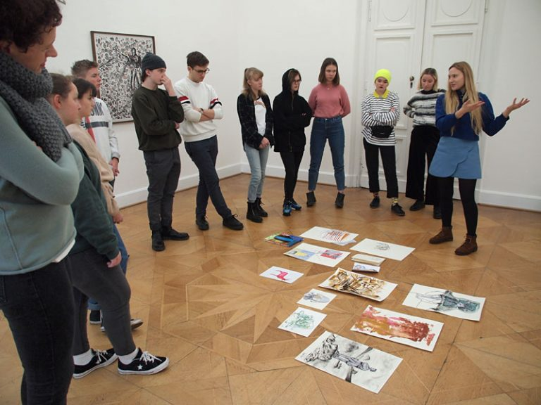 Workshop im Kunstverein 2019